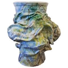 Monumental Smithsonian Artist Early Elena Karina (Canavier) Vessel