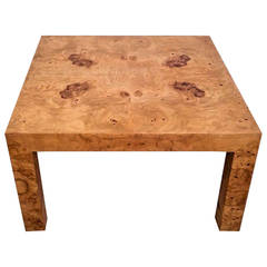Milo Baughman for Thayer Coggin, Burl Parsons Style Coffee Table