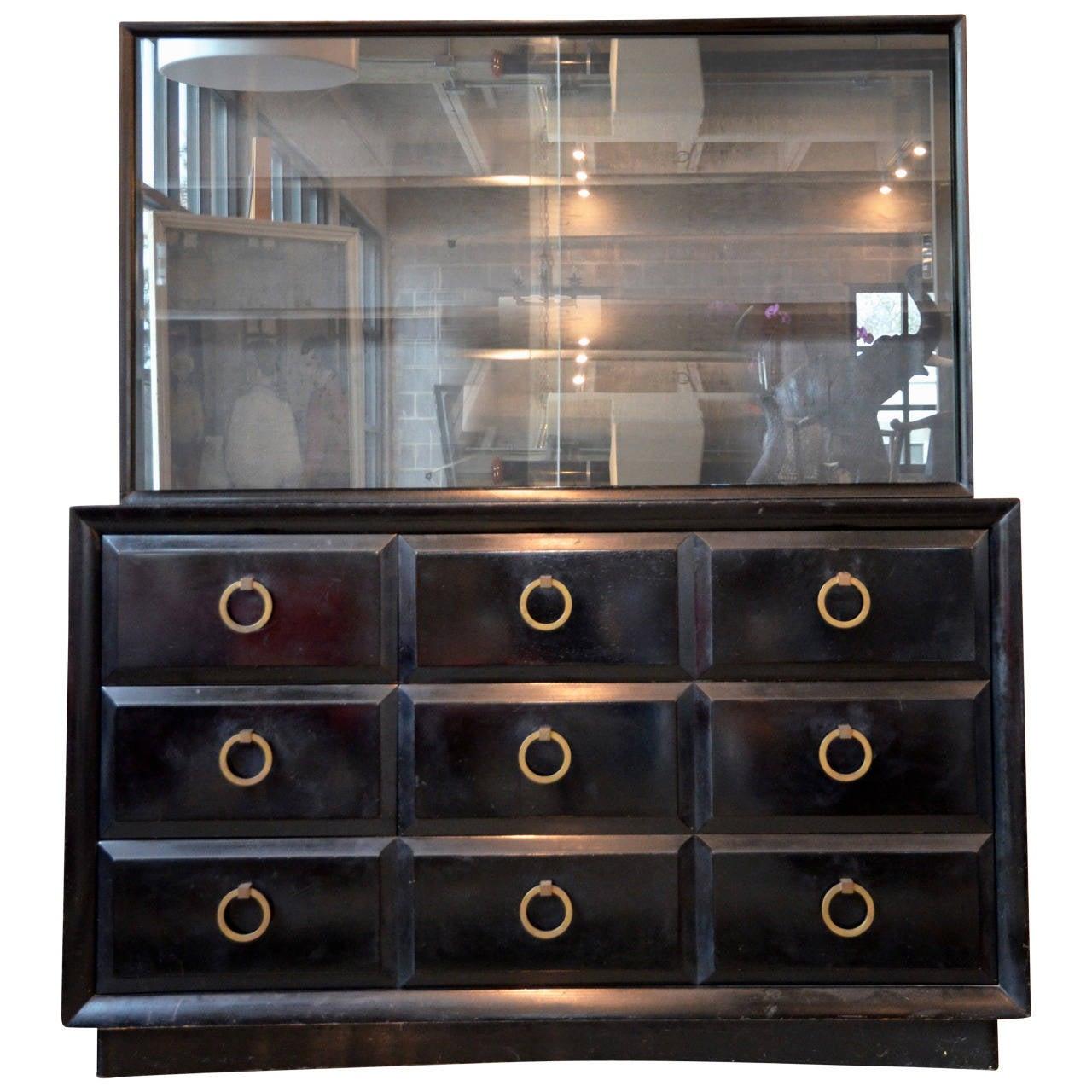 Mid Century Dresser Or Media Cabinet By T. H. Robsjohn Gibbings For  Widdicomb For Sale