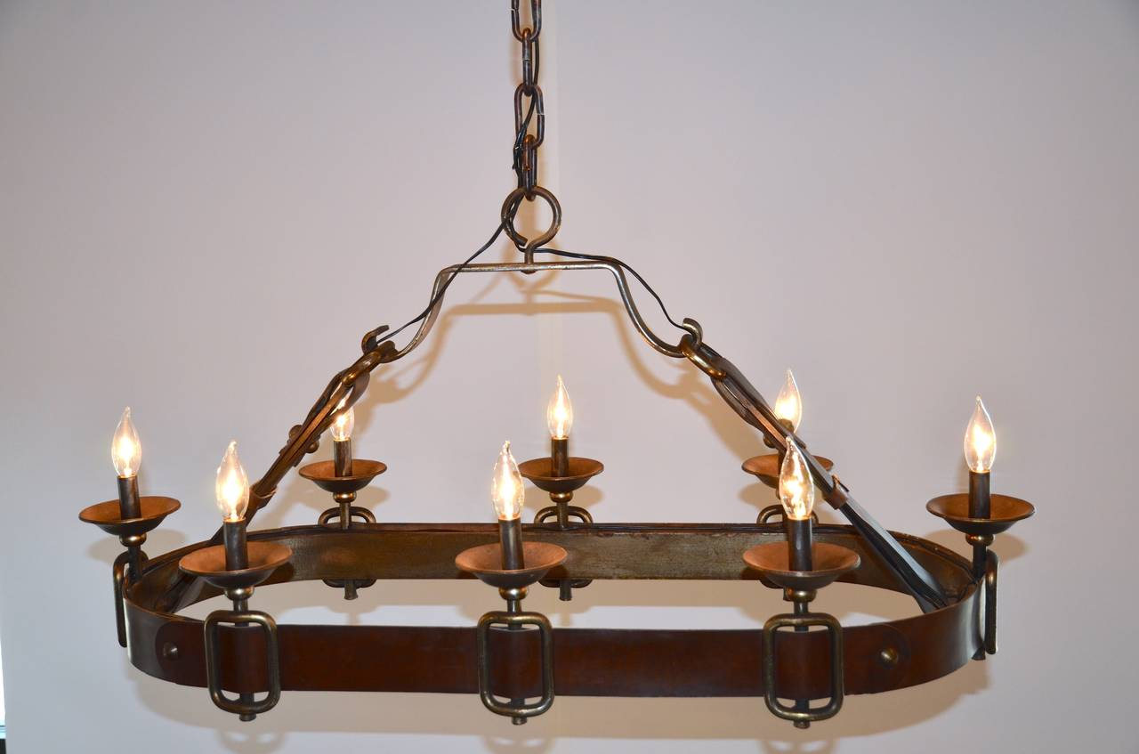 Leather Chandelier Name Leather Whisper Chandelier Equestrian Leather Tack Chandelier