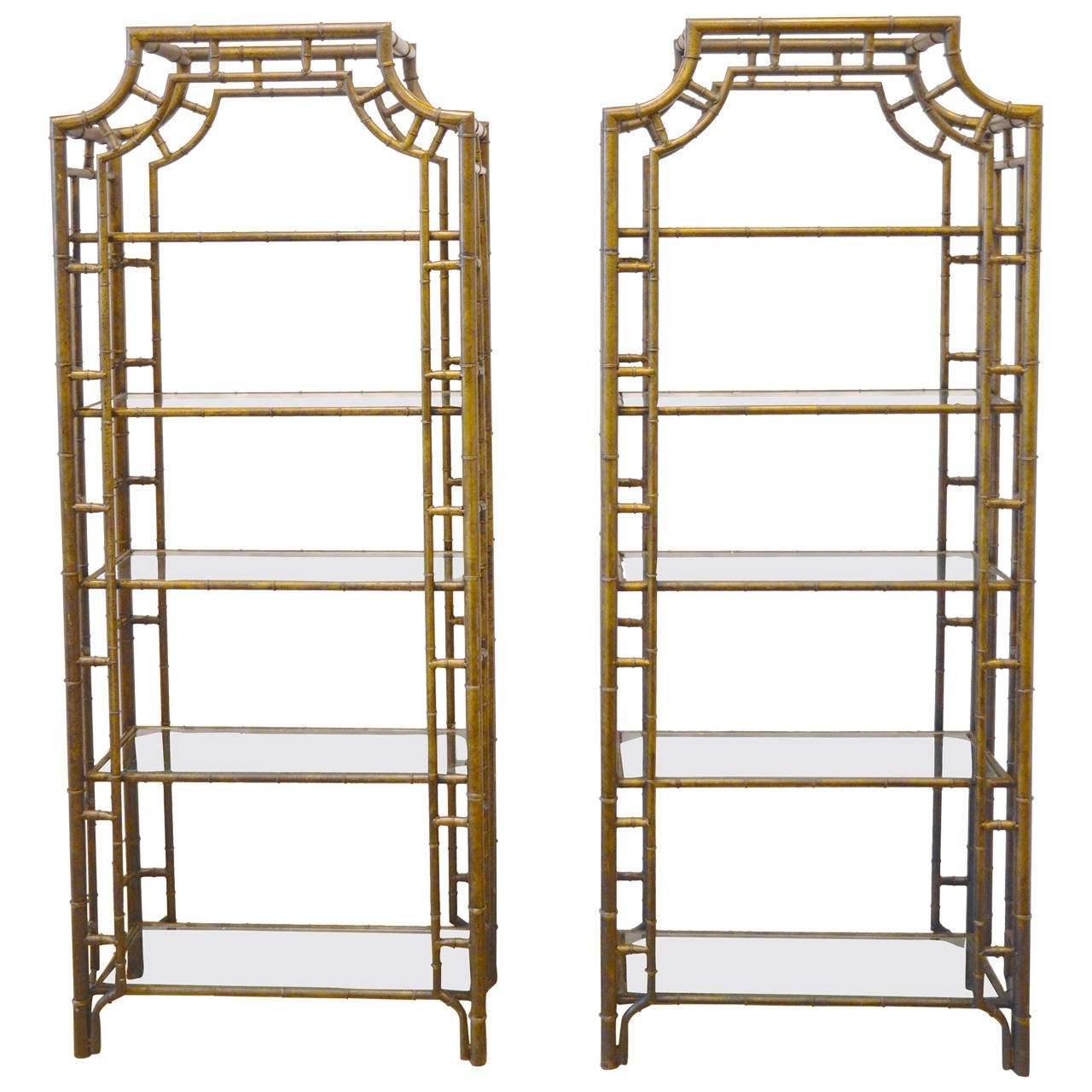 faux bronze bamboo tag res sold separately at 1stdibs. Black Bedroom Furniture Sets. Home Design Ideas