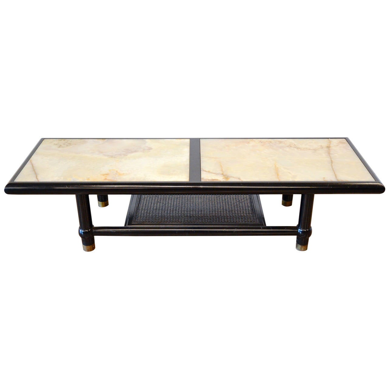 Onyx Coffee Table At 1stdibs Italian Coffee Table With Brass Base And Onyx Top By Cesare Lacca
