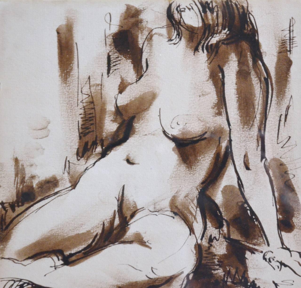 Sepia Nude 117
