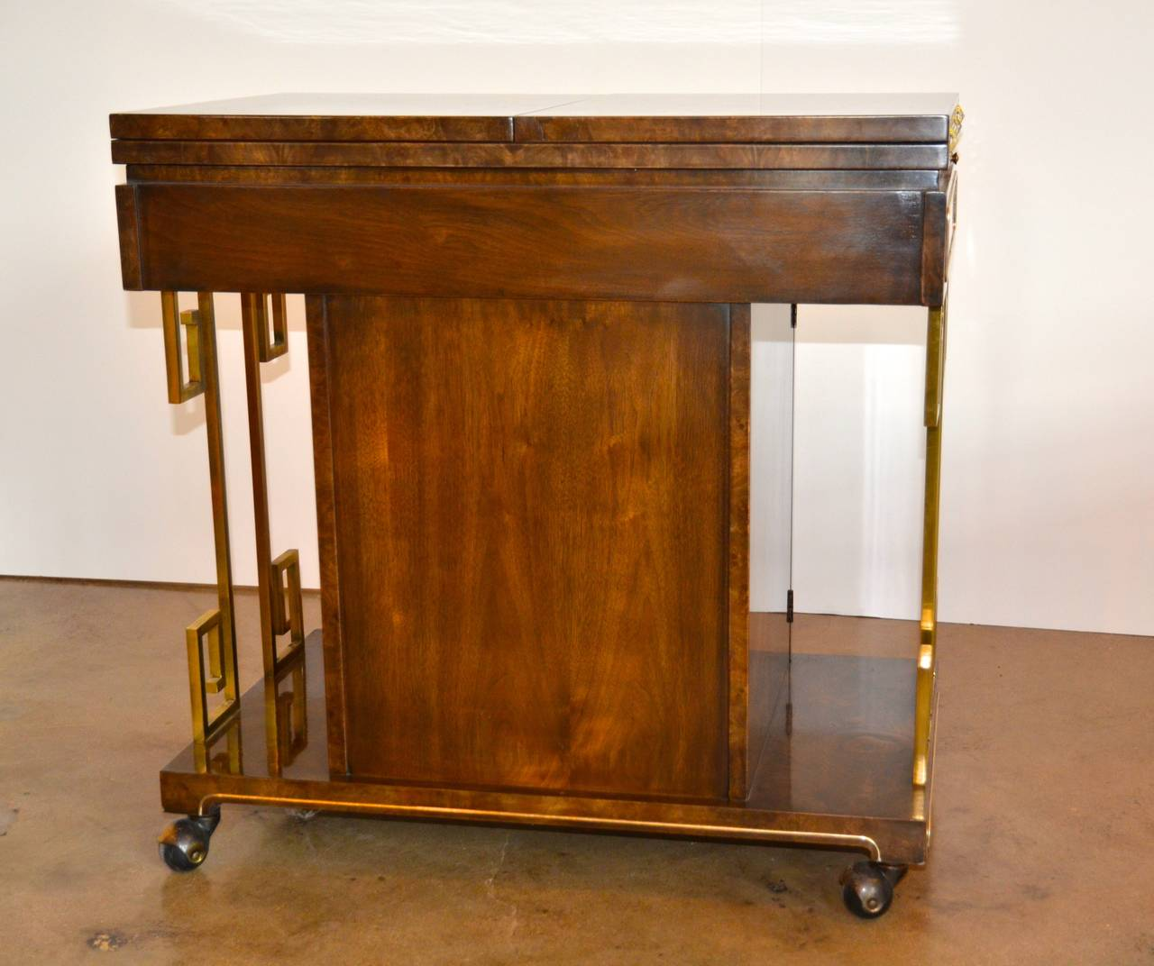 Wagon Cart Buffet ~ Bernhard rohne for mastercraft buffet or bar cart sale