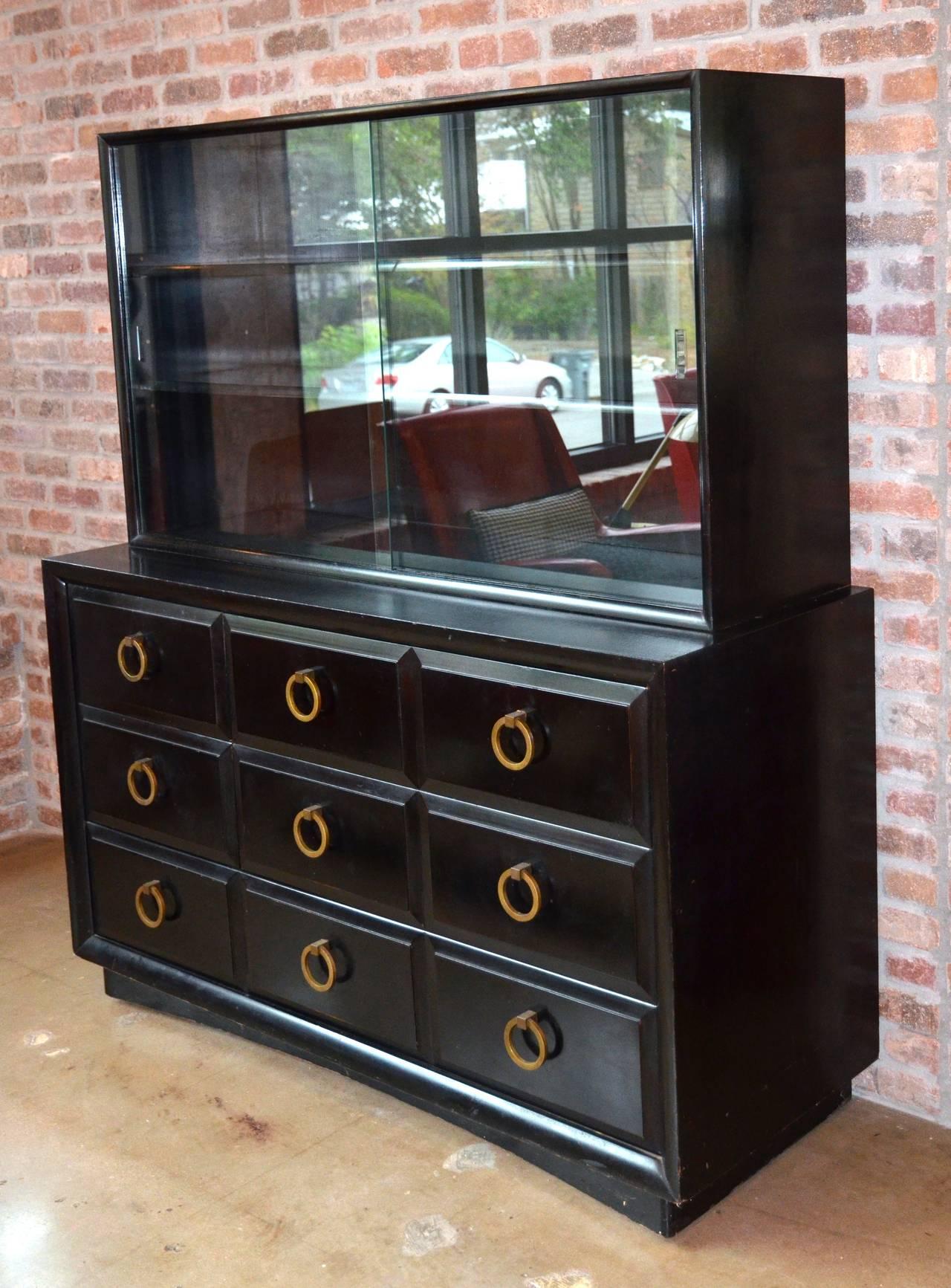 American Mid-Century Dresser or Media Cabinet by T. H. Robsjohn-Gibbings for Widdicomb For Sale