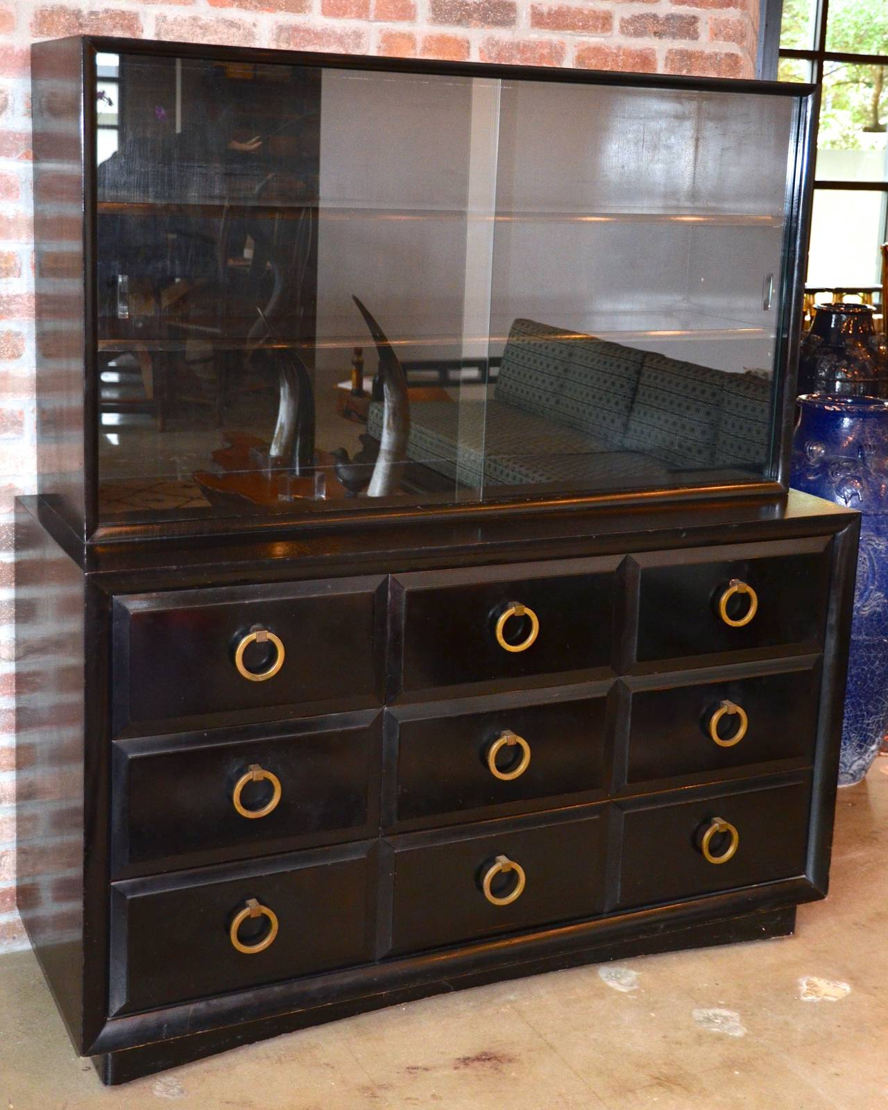Mid-Century Dresser or Media Cabinet by T. H. Robsjohn-Gibbings for Widdicomb In Good Condition For Sale In Austin, TX