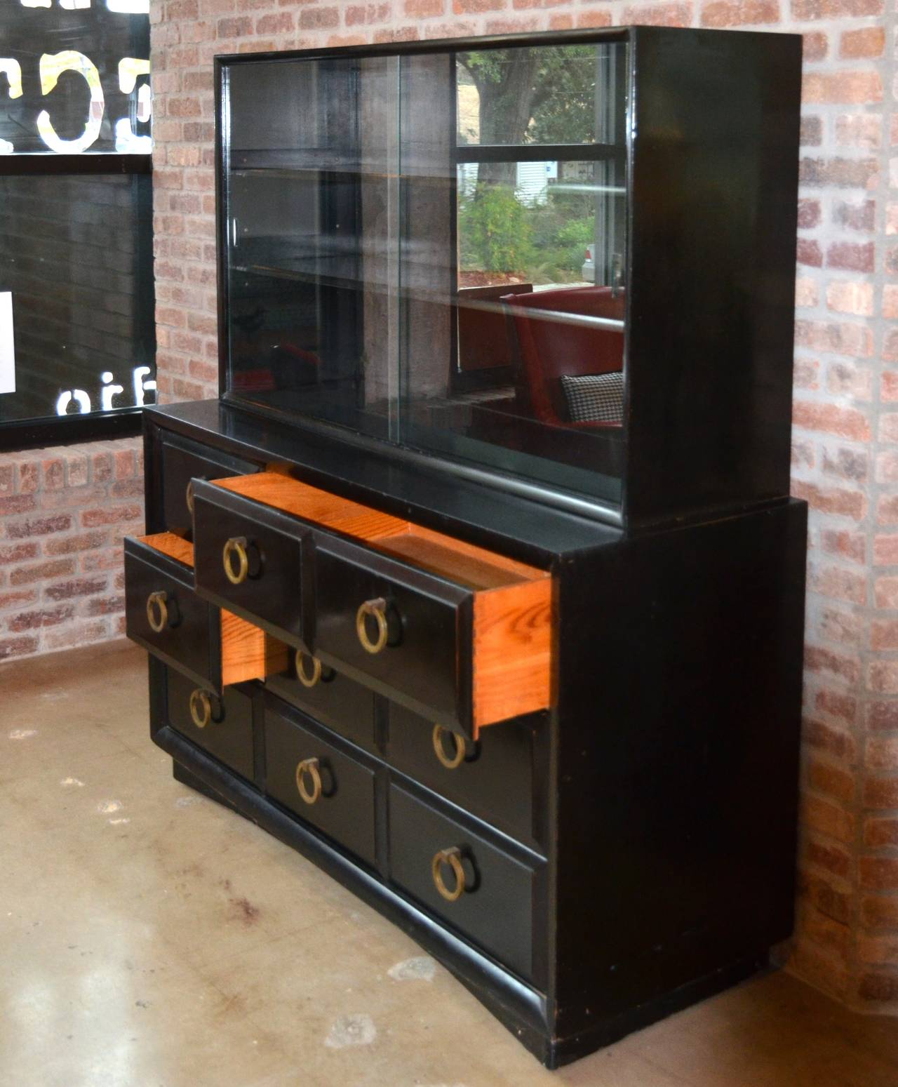 Mid-20th Century Mid-Century Dresser or Media Cabinet by T. H. Robsjohn-Gibbings for Widdicomb For Sale