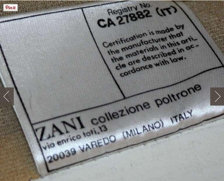 Sleek 1980s Italian White Leather Sofa by Marco Zani For Sale 1