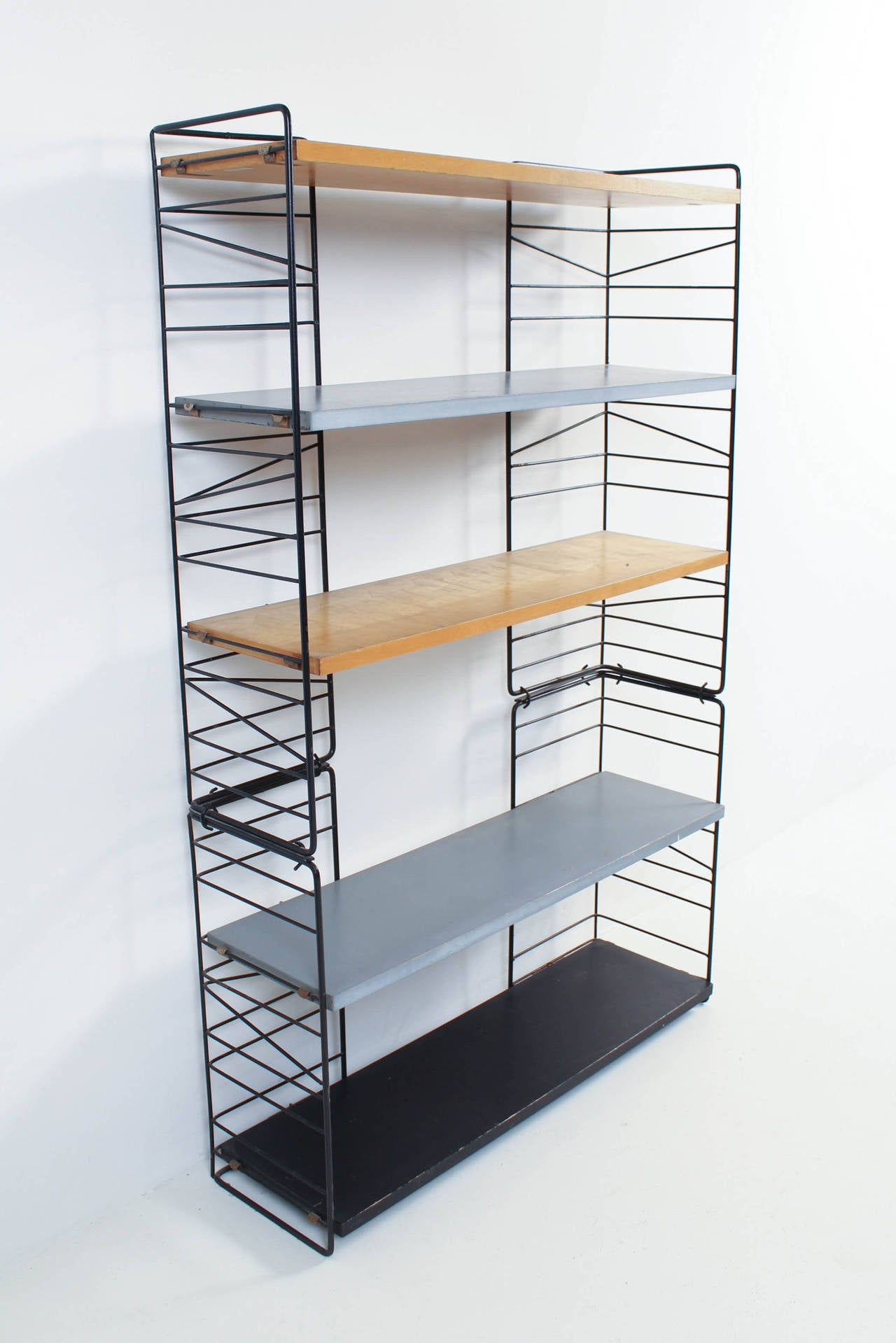a modular stand industrial bookcase bench in queenslander recycled tv upon eco zoom bookshelf green products retro mint once