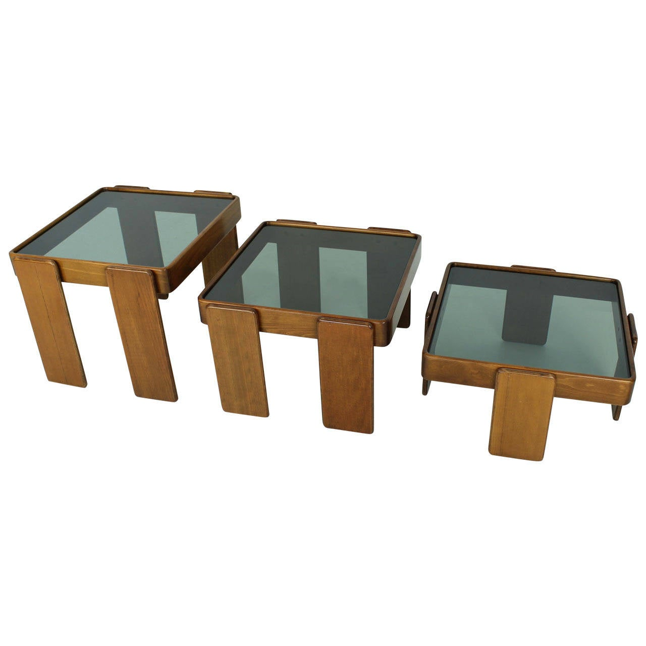 Stacking Coffee Tables By Gianfranco Frattini For Cassina At 1stdibs