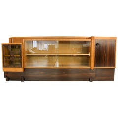 Rare Art Deco Haagse School Sideboard by 't Woonhuys Amsterdam