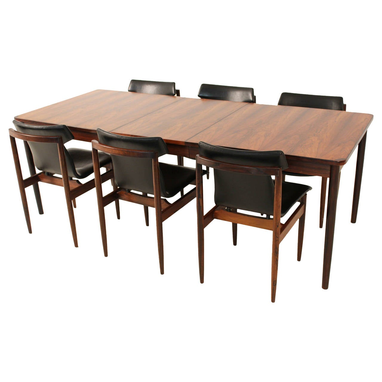 mid century modern dining table by fristho at 1stdibs. Black Bedroom Furniture Sets. Home Design Ideas