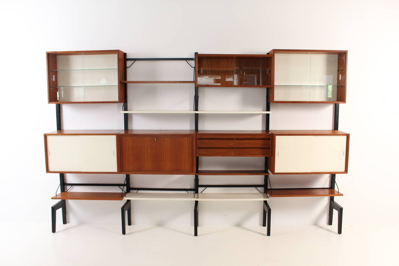 #75371E This Large Royal Modular Wall Unit By Poul Cadovius Is No Longer  with 1280x853 px of Best Large Wall Shelving Units 8531280 image @ avoidforclosure.info