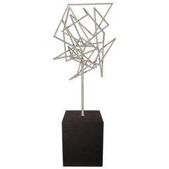 Infinity Sculpture by Lou Blass, custom for Kelly