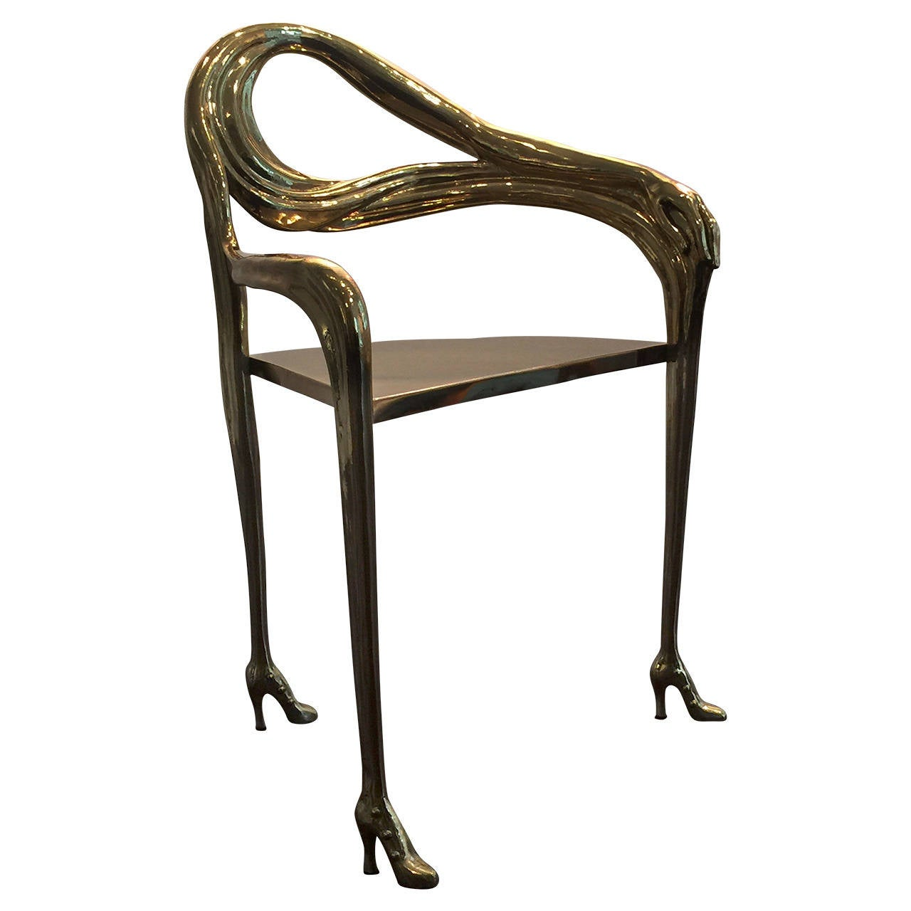 Salvador Dali Leda Chair At 1stdibs