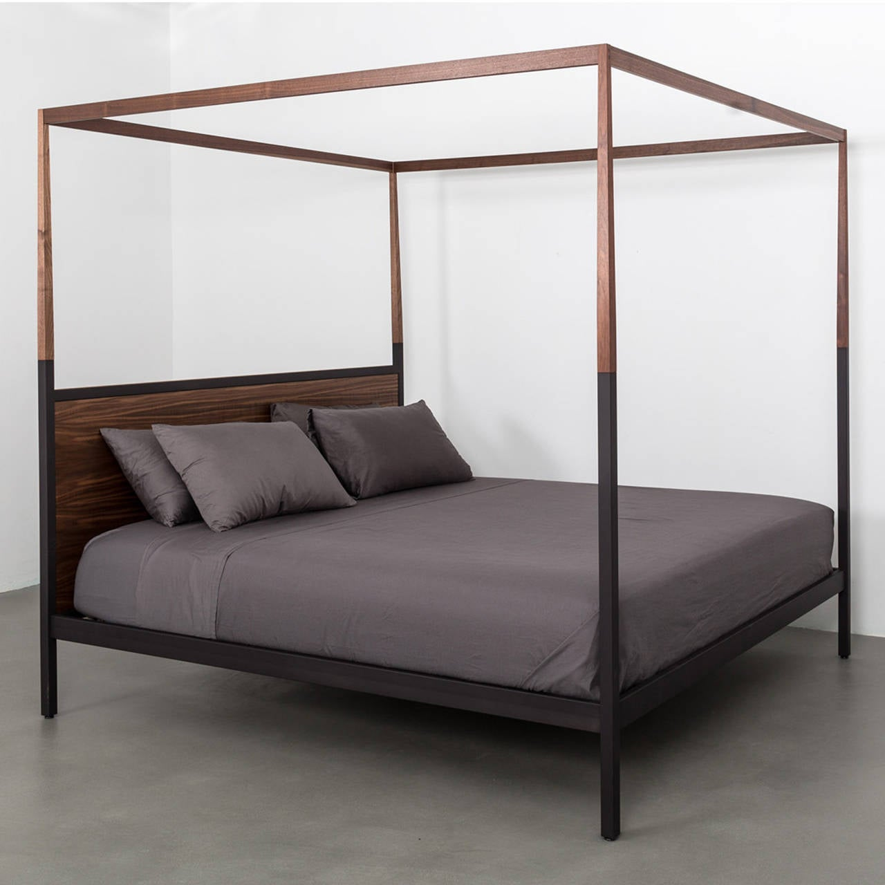 canopy bed cute modern wooden secondsunco