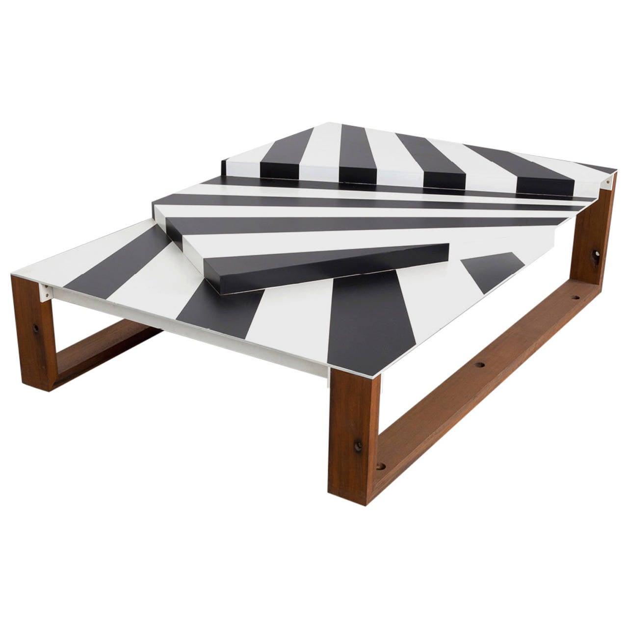 Dazzle Coffee Table by Uhuru Design, Reclaimed Teak