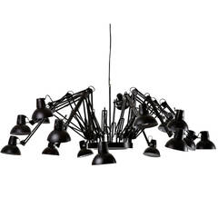 Sixteen-Light Chandelier by Ron Gilad