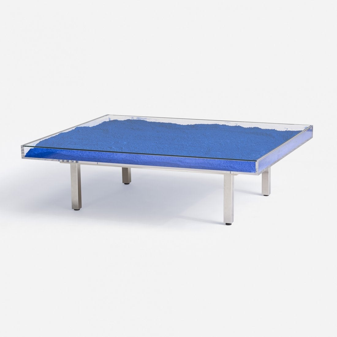 Klein Marble Coffee Table: Klein Blue™ Table By Yves Klein For Sale At 1stdibs