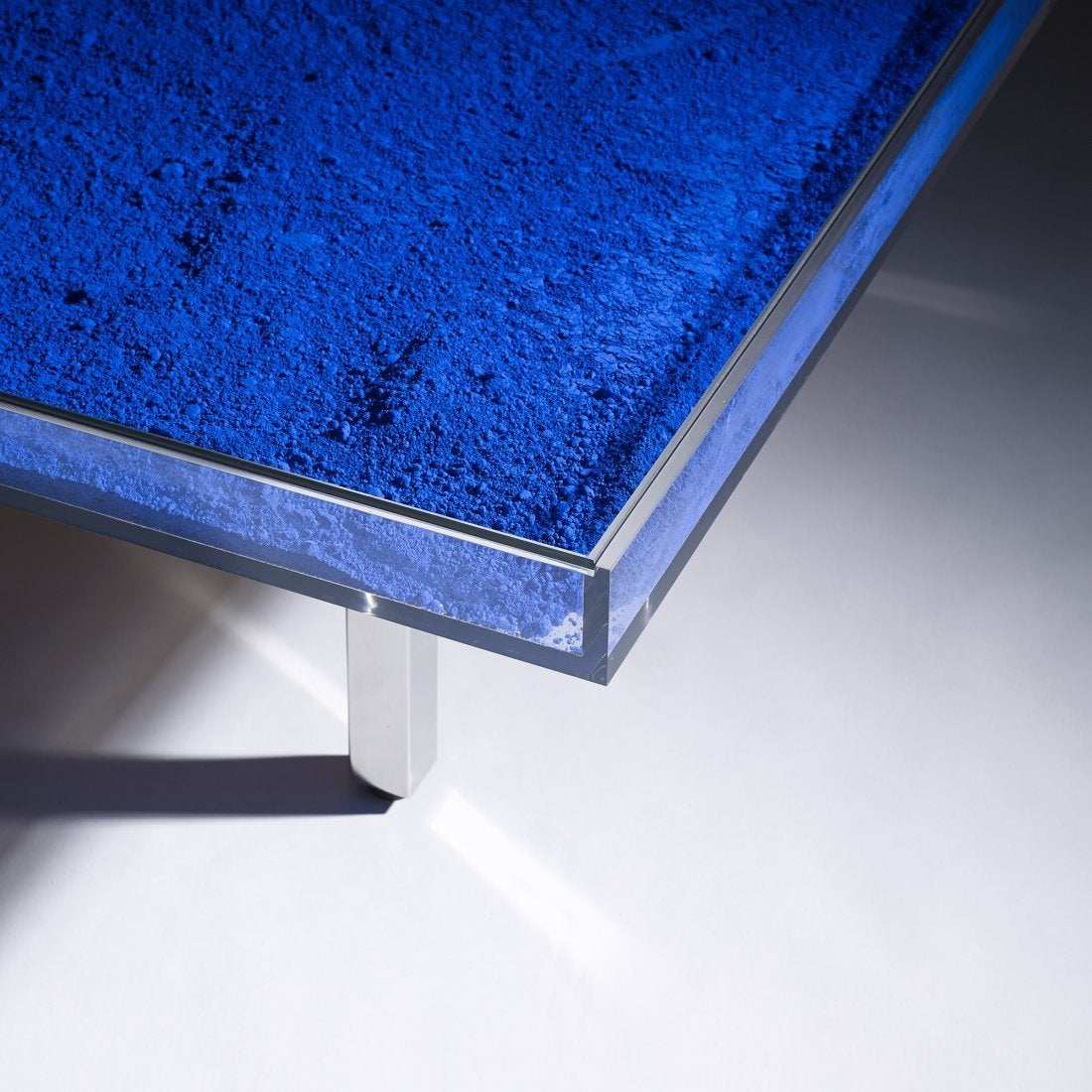 Klein Blue Table By Yves Klein For Sale At 1stdibs