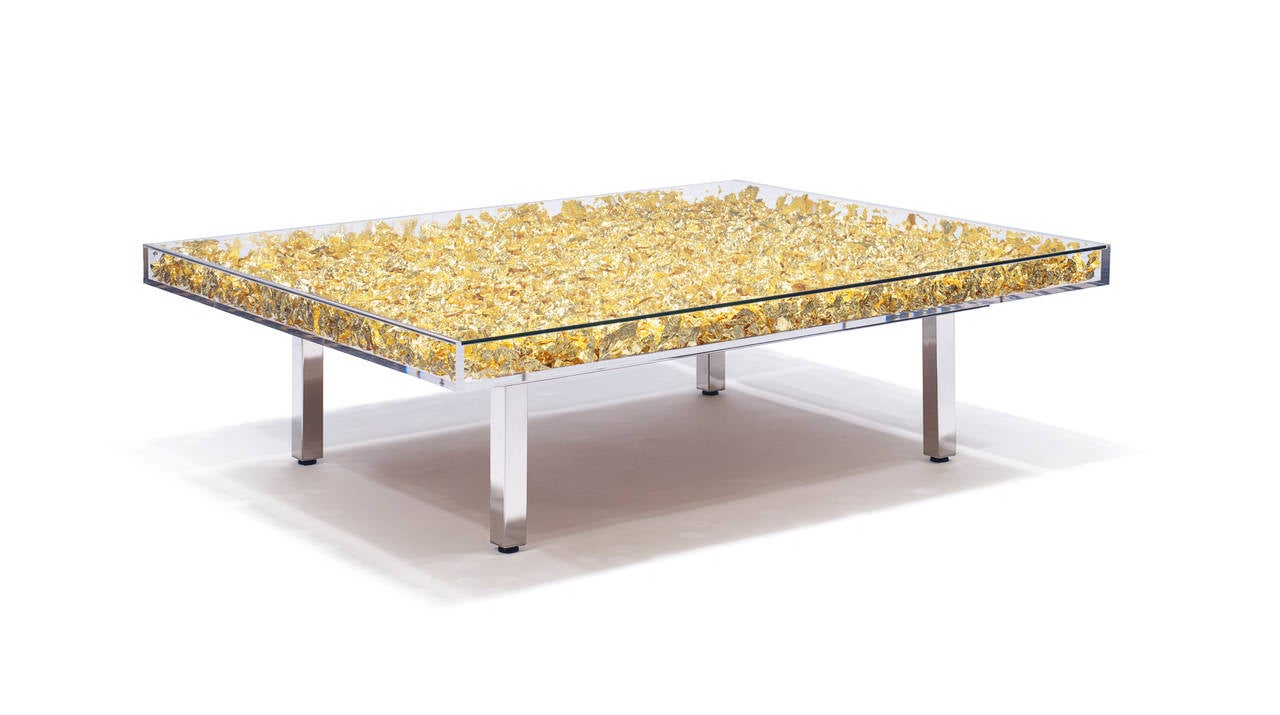 Monogold Table By Yves Klein At 1stdibs