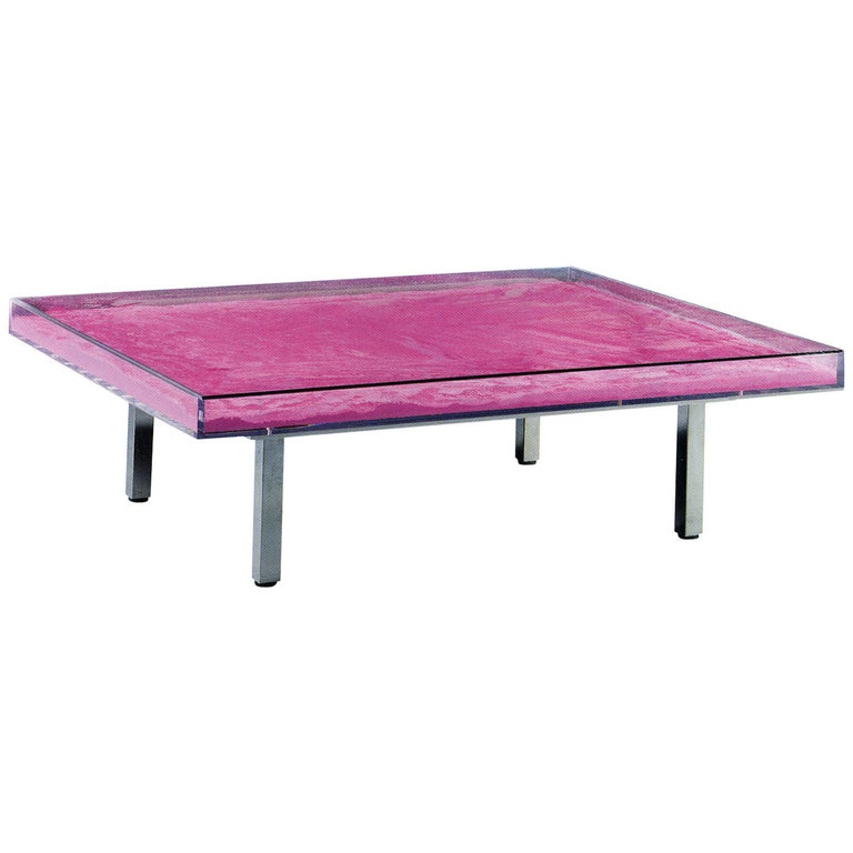 Monopink Table by Yves Klein For Sale