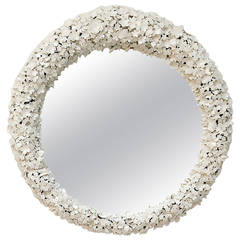 Mirror 'Mirror Mirror' Ivory by Barnaby Barford