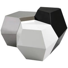 Set of Side Tables 'Polyhedral' by Mattia Bonetti
