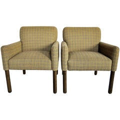 Mid Century Italian Arm Chairs by Cassina