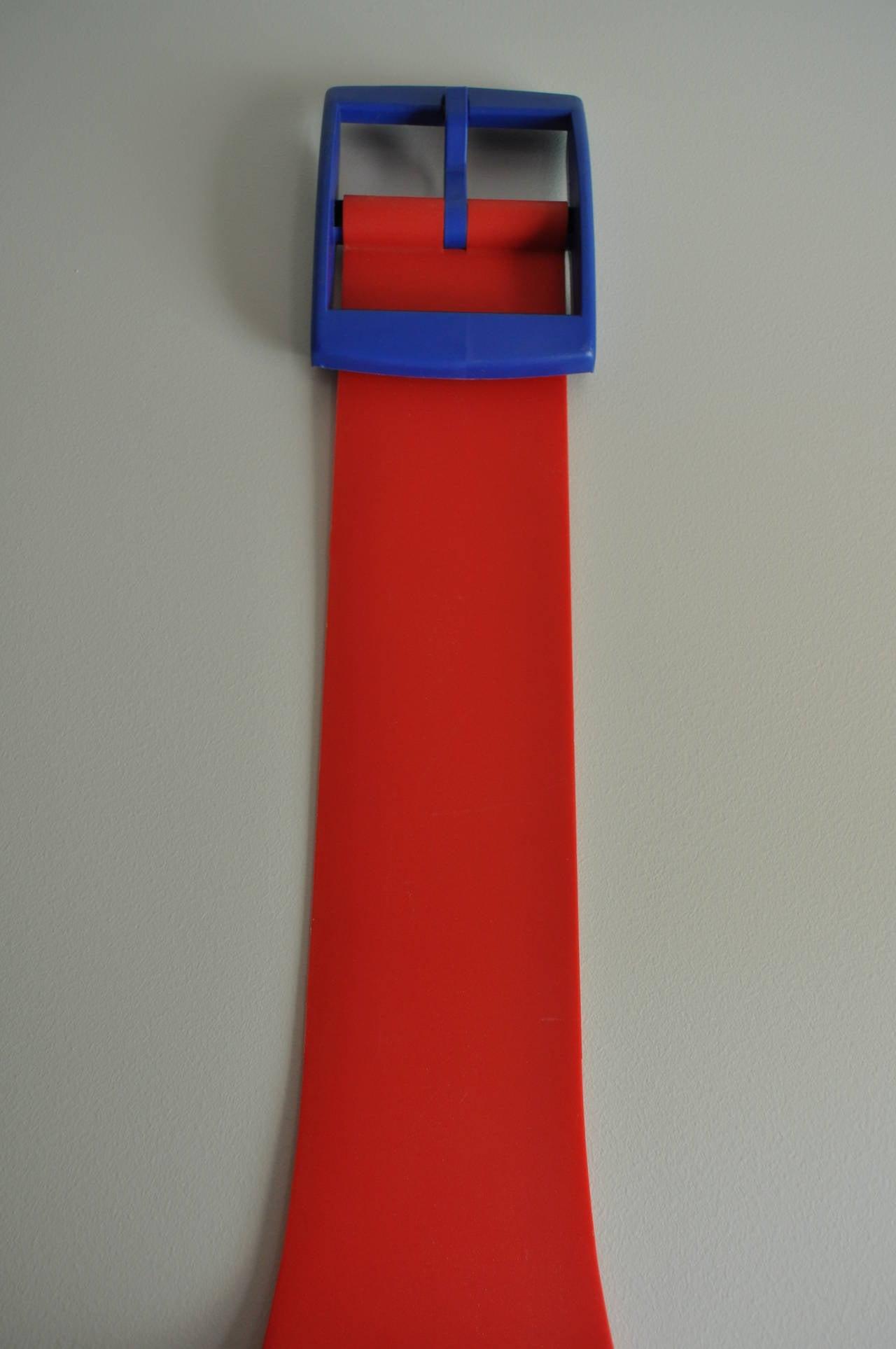 Massive 1980s Swatch Watch Pop Art Wall Clock At 1stdibs