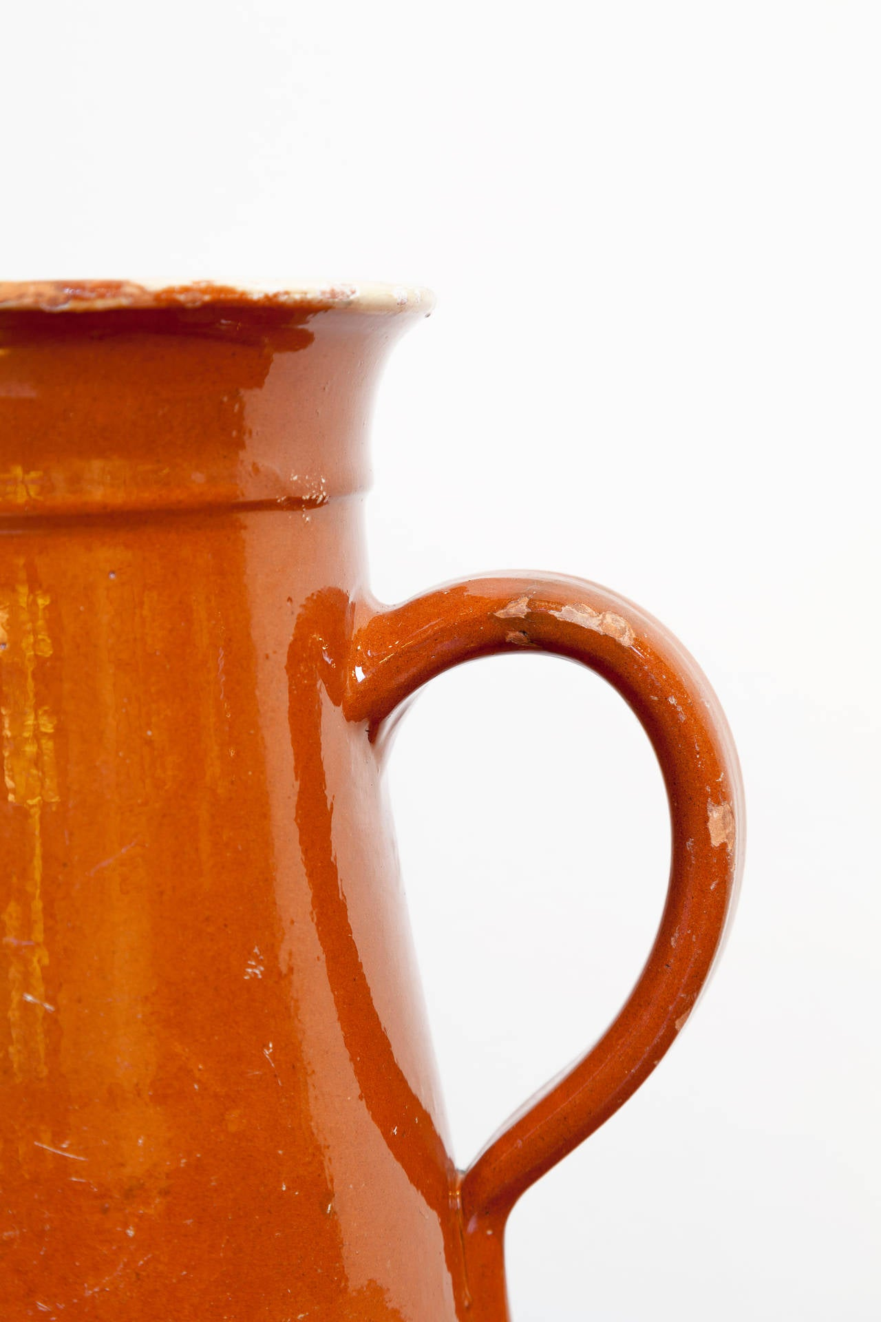 French Savoyard Pitcher, circa 1900 In Good Condition For Sale In Chappaqua, NY