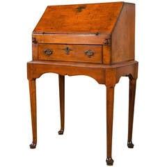 19th Century Petite Slant Front Desk