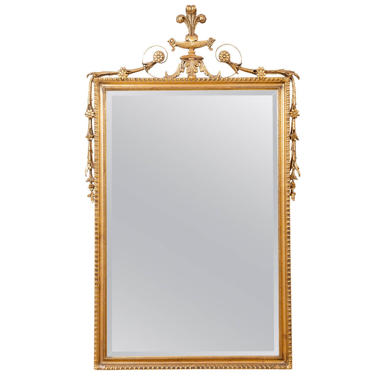 19th century english giltwood mirror for sale at 1stdibs for Mirrors for sale