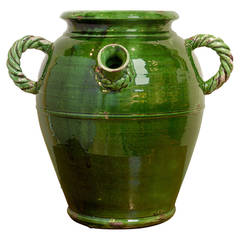 French Provençal Storage Jar, Late 19th Century
