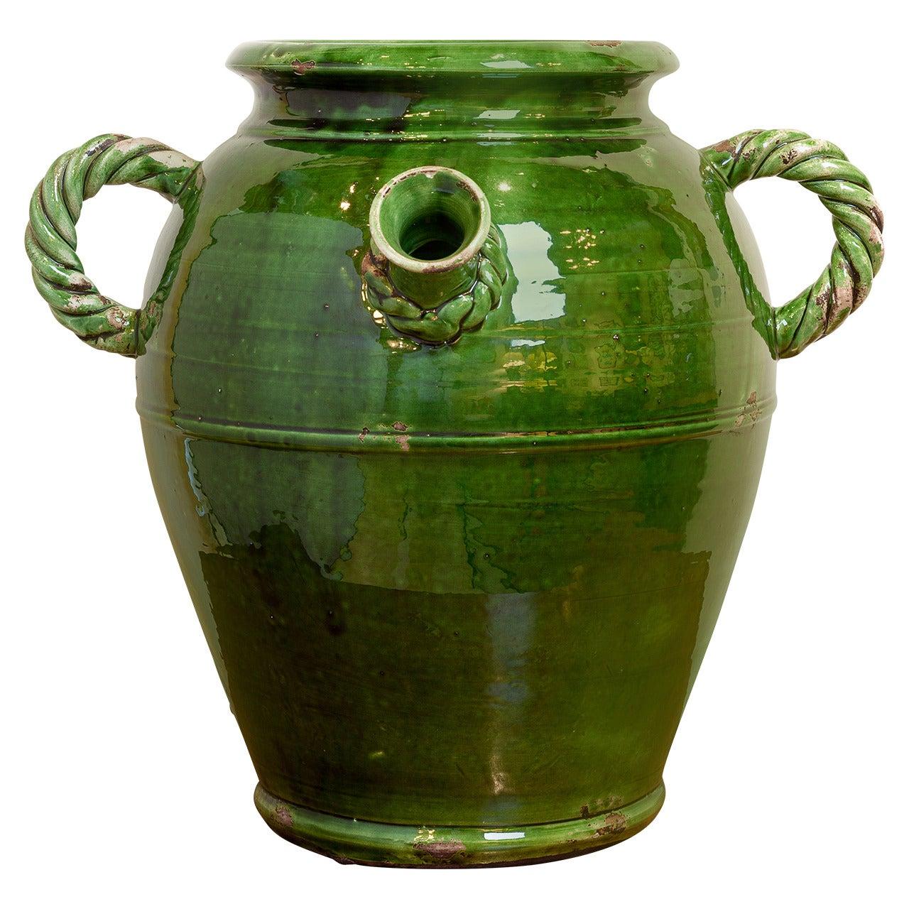 French Provençal Storage Jar, Late 19th Century