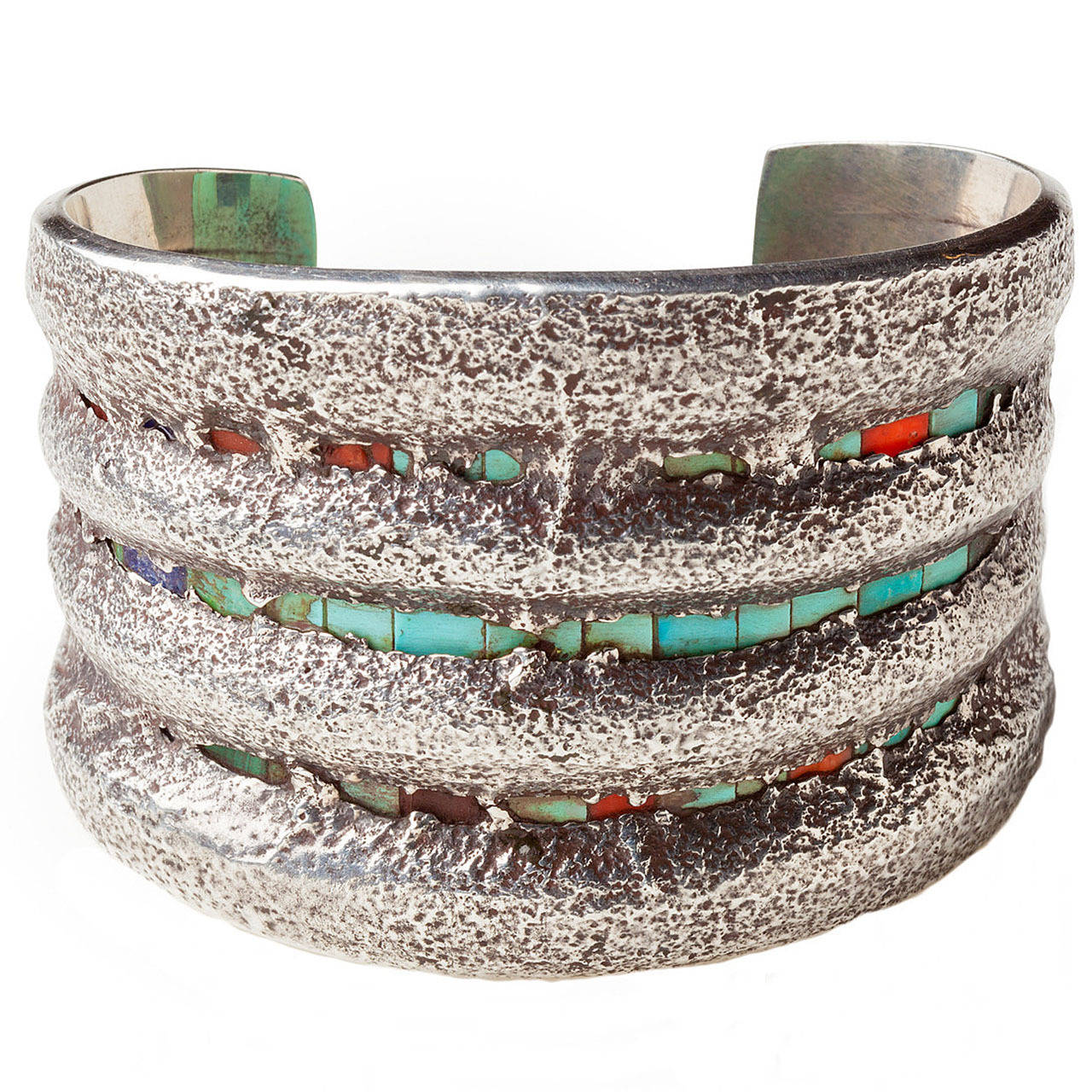 charles loloma jewelry charles loloma tufa cast cuff with inlay circa 1970 for 7147