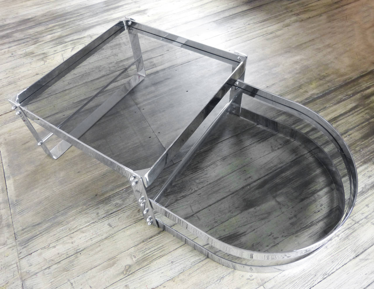 Split level coffee table circa 1970 for sale at 1stdibs for 3 level coffee table