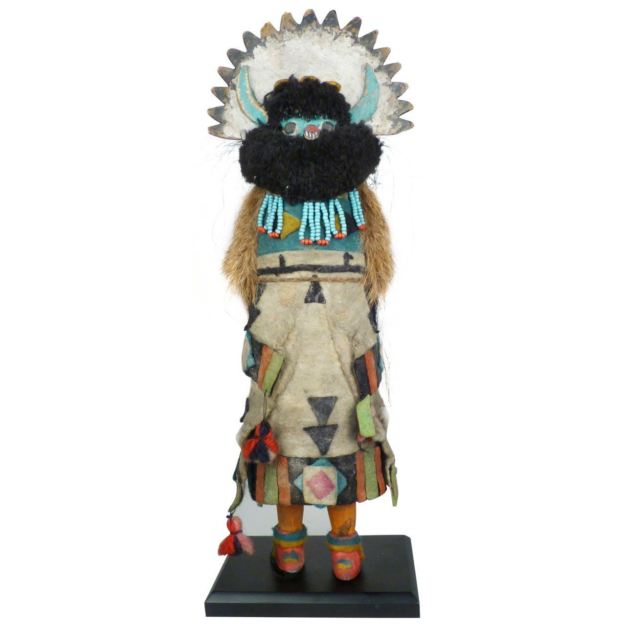 Vintage Zuni Kachina Doll Circa 1930s At 1stdibs