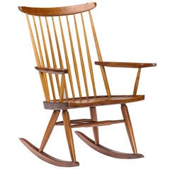 George Nakashima Rocking Chair, circa 1970