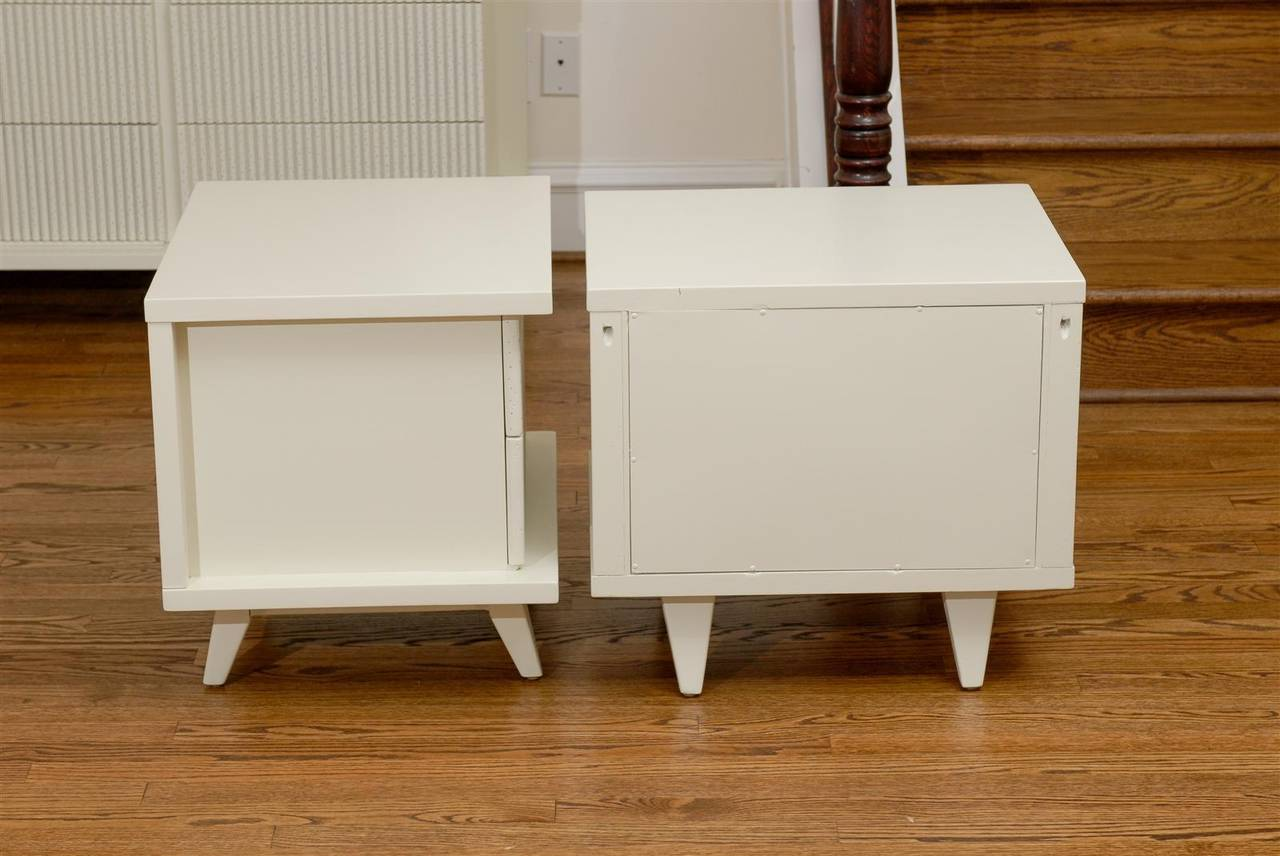Mid-20th Century Stunning End Tables or Night Stands by American of Martinsville