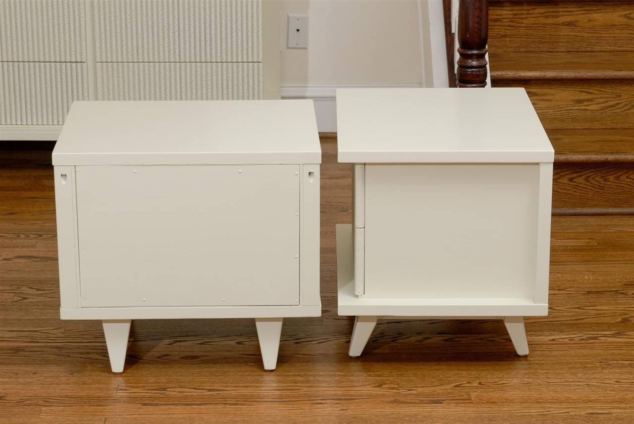 Mahogany Stunning End Tables or Night Stands by American of Martinsville