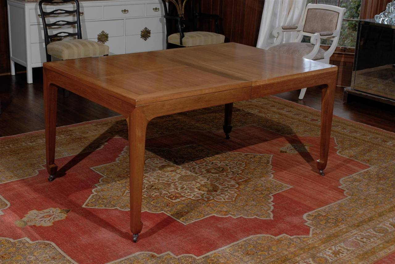 Breathtaking Vintage Baker Extension Dining Table in  : abp021220150242Customl from www.1stdibs.com size 1280 x 856 jpeg 132kB