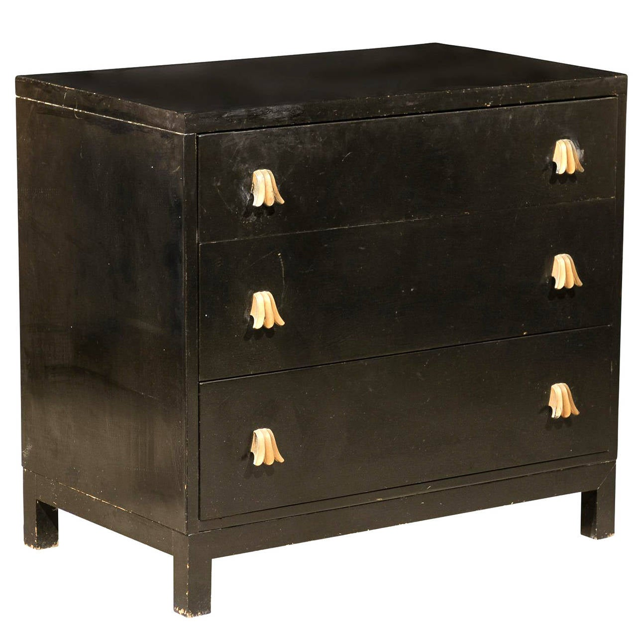 Widdicomb Chest with Tulip Hardware, Choice of Lacquer Color