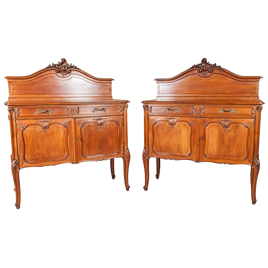 Fr 233 d 233 ric schmit pair of antique french louis xv style rococo revival