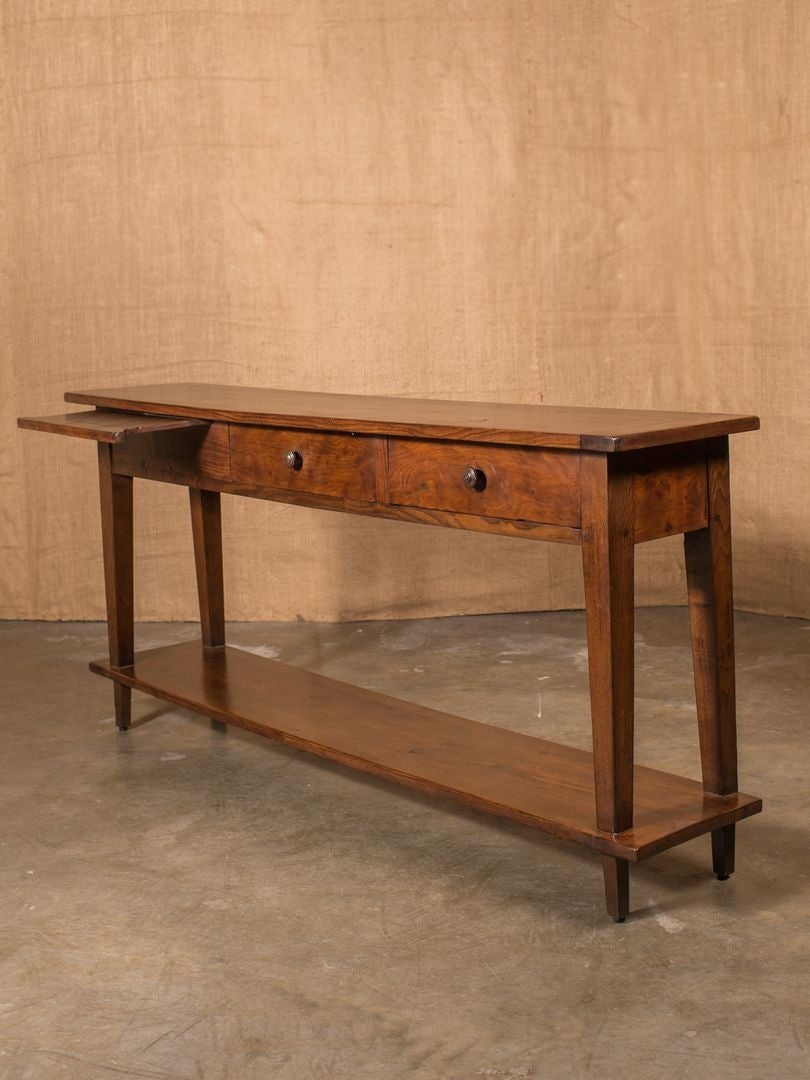 Rustic French Country Sofa Table At 1stdibs