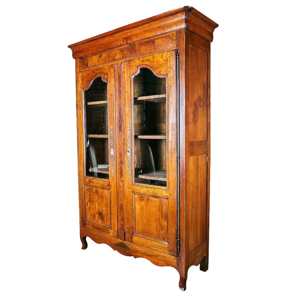 country french louis xv style bibliotheque at 1stdibs. Black Bedroom Furniture Sets. Home Design Ideas