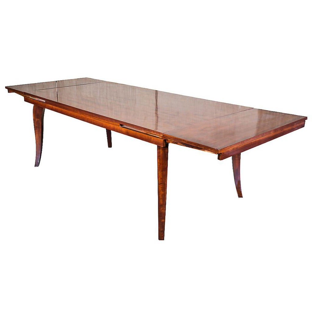 French art deco dining table at 1stdibs for Artistic dining room tables
