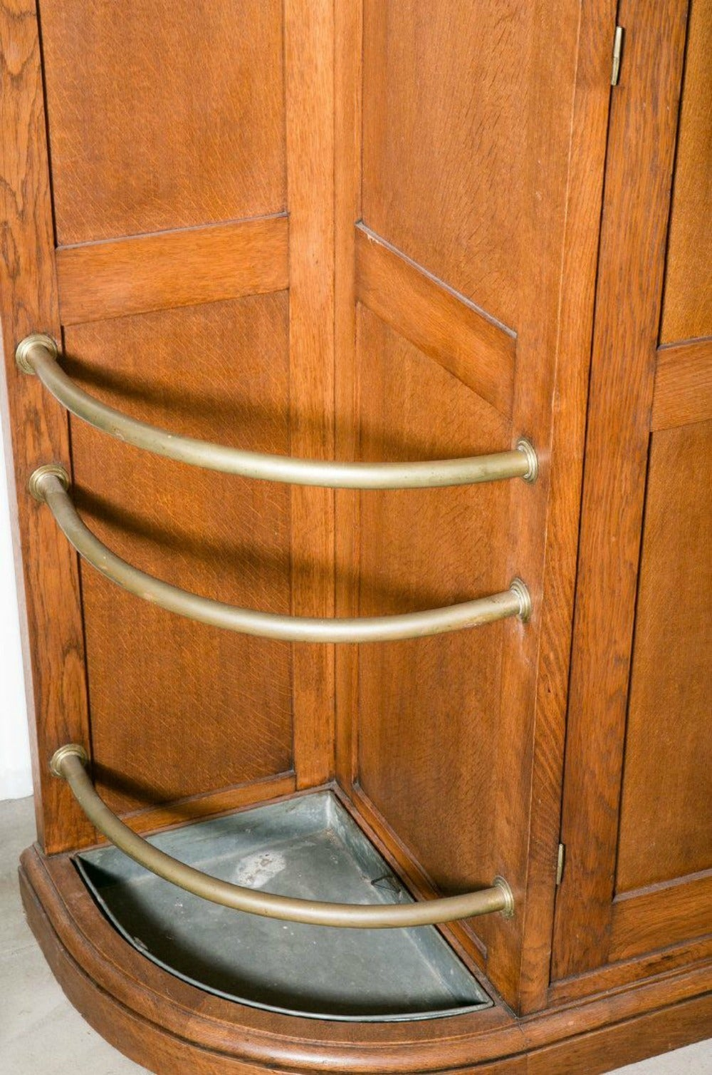 French Art Deco Corner Closet For Sale At 1stdibs