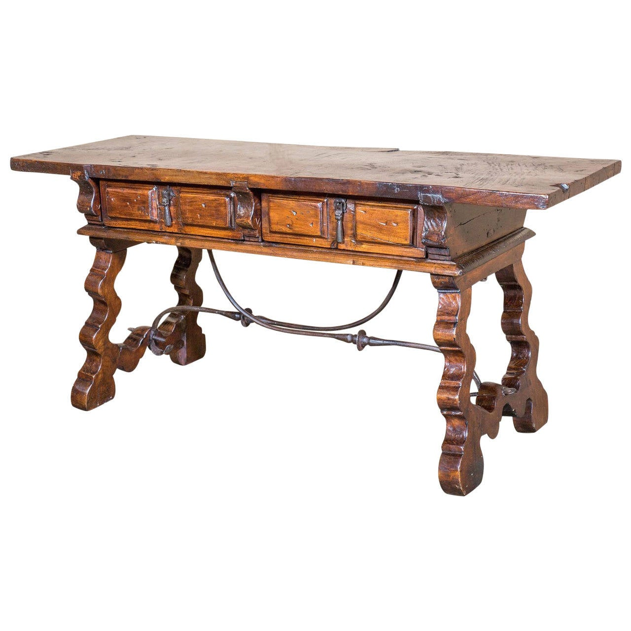 18th century spanish coffee table at 1stdibs for Table in spanish
