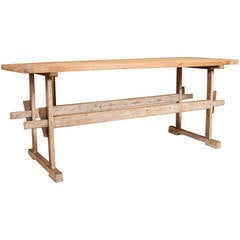 Country French Pine Cheese Table
